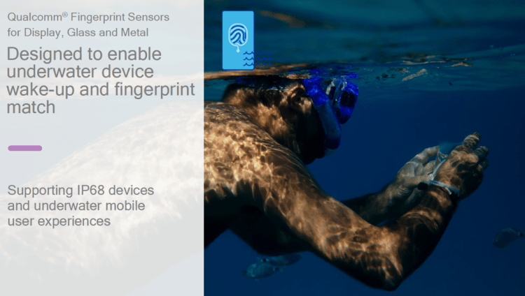 Qualcomm Is Going to Make Fingerprint Technology Better — Even Underwater!