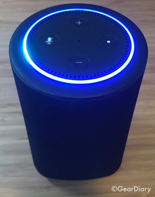 Add an Exclamation Mark to Your Dot with the VAUX Speaker for Echo Dot  Add an Exclamation Mark to Your Dot with the VAUX Speaker for Echo Dot  Add an Exclamation Mark to Your Dot with the VAUX Speaker for Echo Dot