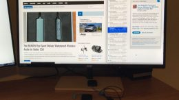 "GearDiary I'm a Fan of the AOC P2779VC 27"" Monitor with Wireless Charging"