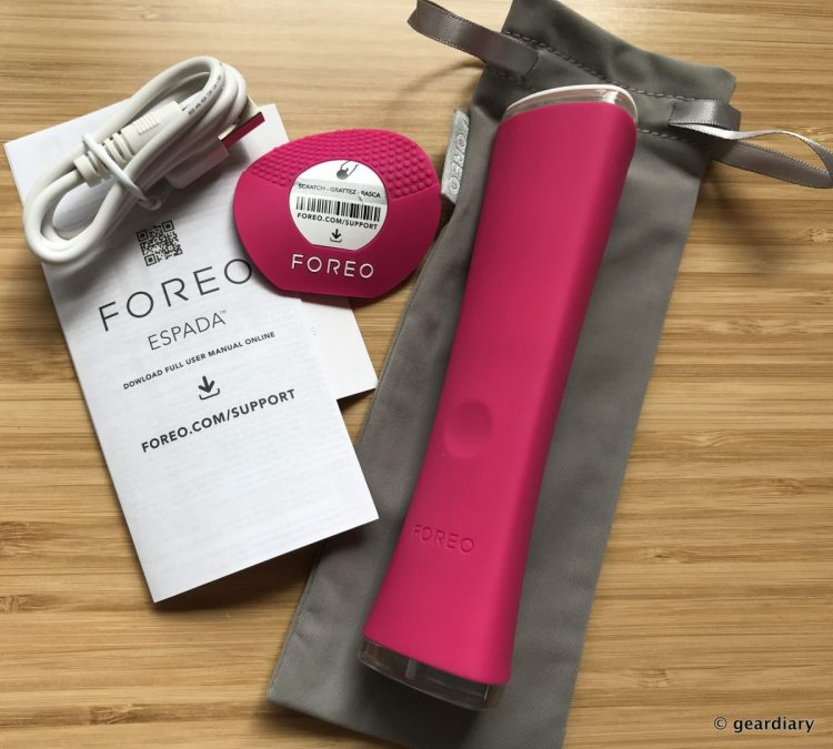 FOREO ESPADA Blue Light Acne Treatment Device Review