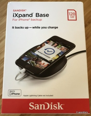 GearDiary SanDisk iXpand Base Review: Auto Backups While Your iPhone Charges