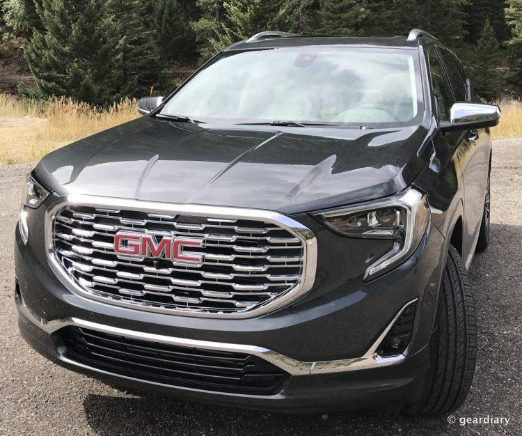 GearDiary 2018 GMC Terrain Denali Test Drive: Touring Yellowstone in Style