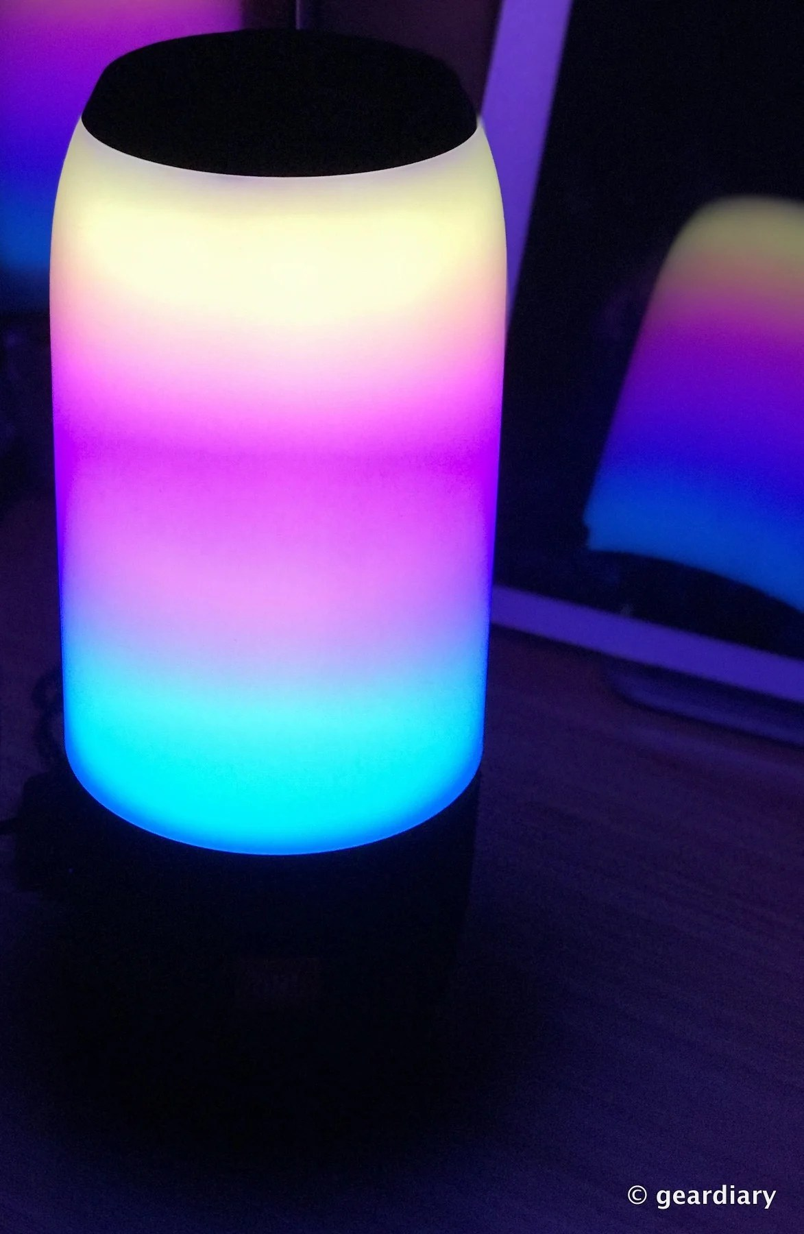 GearDiary JBL Pulse 3 Portable Bluetooth Speaker: A Grown Up Lava Lamp With  Skills