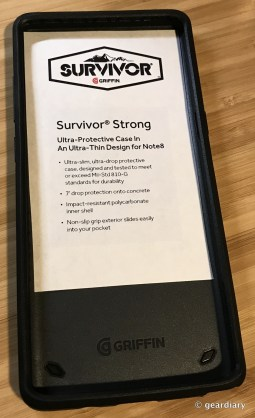 Griffin Survivor Protection Is Now Available for the Samsung Galaxy Note8