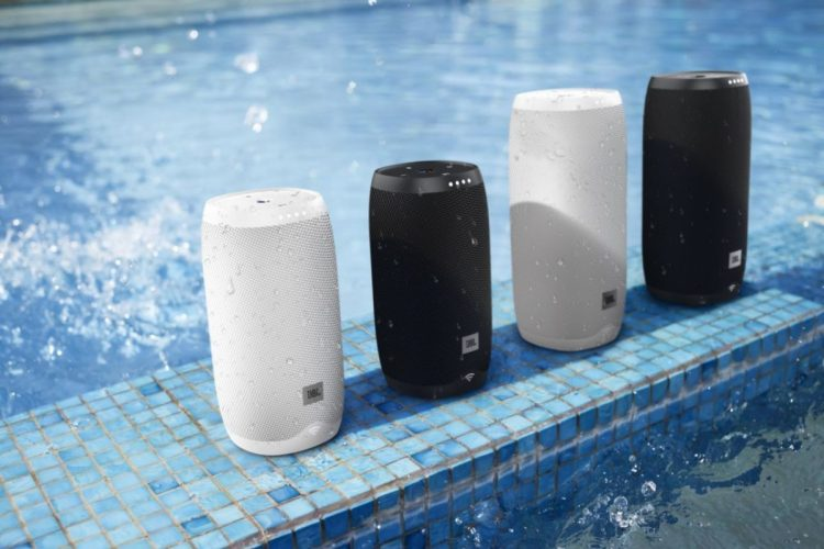 Take a Shower with JBL's LINK Speakers and Google Assistant