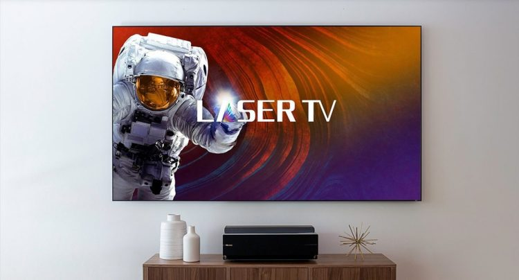 """Hisense's Laser TV Is the Most Affordable Way to Get a 100"""" TV"""