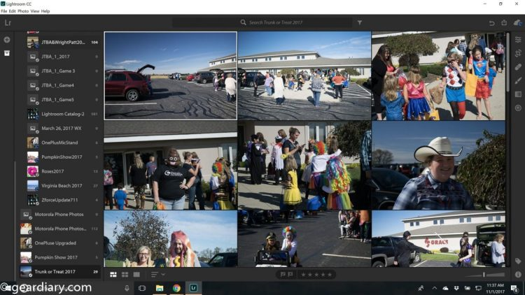GearDiary Adobe's New Lightroom CC Cloud-Based Editor Review