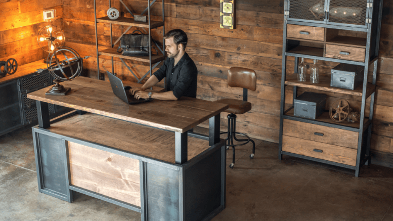 The XDesk Vintage Line of Standing Desks Is a Gorgeous, Albeit Pricey, New Line of Standing Desks