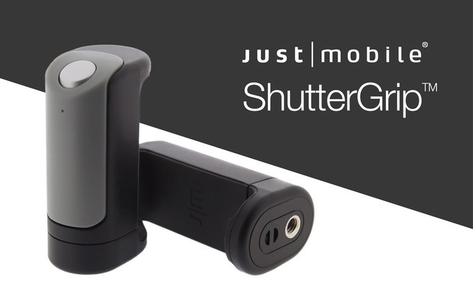 Just Mobile ShutterGrip Is a Grab-and-Go Camera Control for Your Smartphone