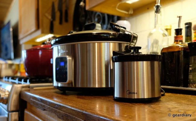 The Midea Locking Lid 6-Quart Slow Cooker Can Handle Your Holiday Entertainment Needs