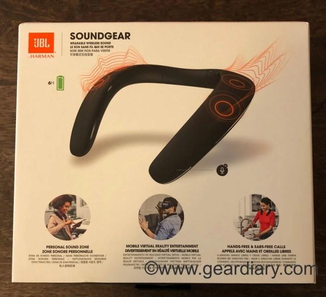 JBL Soundgear Wearable Speaker Breaks the Mold, but to What End?