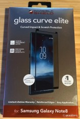 GearDiary ZAGG InvisibleShield Glass Curve Elite Screen Protector for Samsung Galaxy Note8 Review