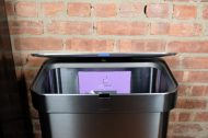 GearDiary Simplehuman Lets You Talk to Your Trash Can, and It's Amazing