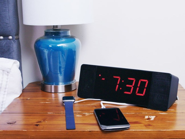 GearDiary The Sandman Doppler Isn't a Bedside Clock, It is an Alexa-powered Information Hub