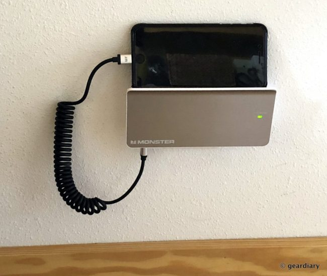 Monster Power Amp Charging Station With Phone And Tablet