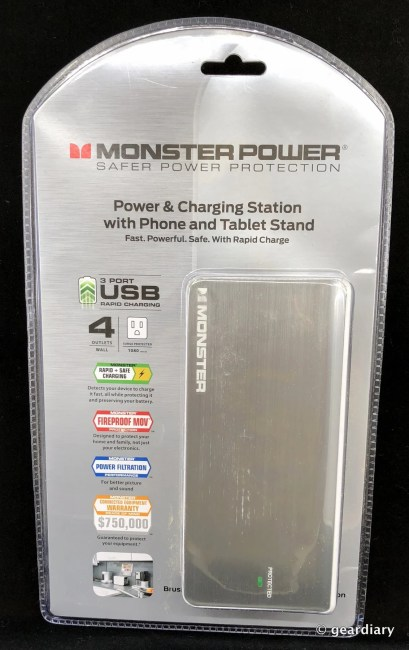 GearDiary Monster Power & Charging Station with Phone and Tablet Stand Review