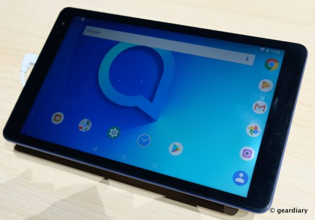 GearDiary Alcatel's Two Latest Tablets are Cheap Enough to Take on the Kindle Fires
