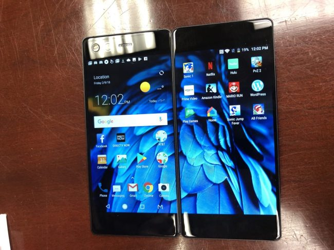 GearDiary The ZTE Axon M Is Literally a Two Faced Phone!