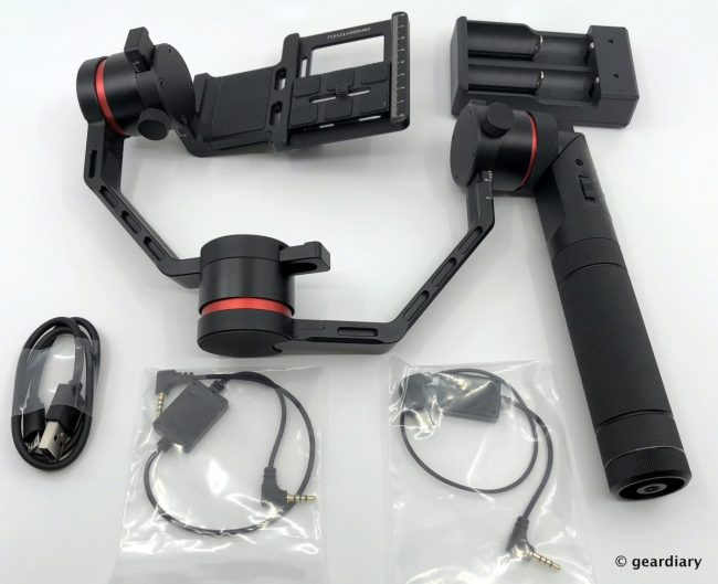 GearDiary Snoppa Kylin M Motorized 3-Axis Stabilizer for Lightweight Cameras Review