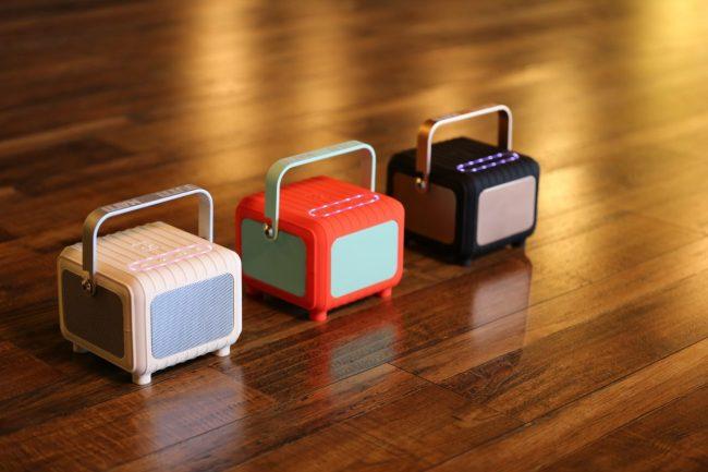 Tutti Studio Matti: Funny Name for a Cute, Retro-Design Wireless Speaker