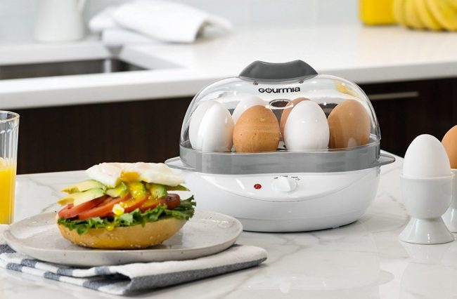 GearDiary The Gourmia Electric Egg Cooker Makes Boiled Eggs a Breeze