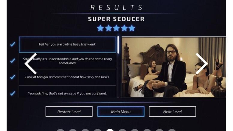 GearDiary Super Seducer Is a Super Creepy Game