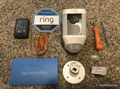 GearDiary Ring Spotlight Cam Solar Is the Bright Choice in Simple Home Security