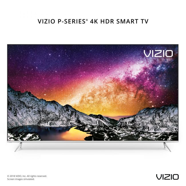 GearDiary VIZIO's New 2018 TV Lineup Offers the Best Picture to Date