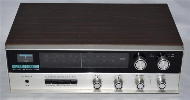Vintage Victory: The KLH Model Seventy-One Stereo Receiver