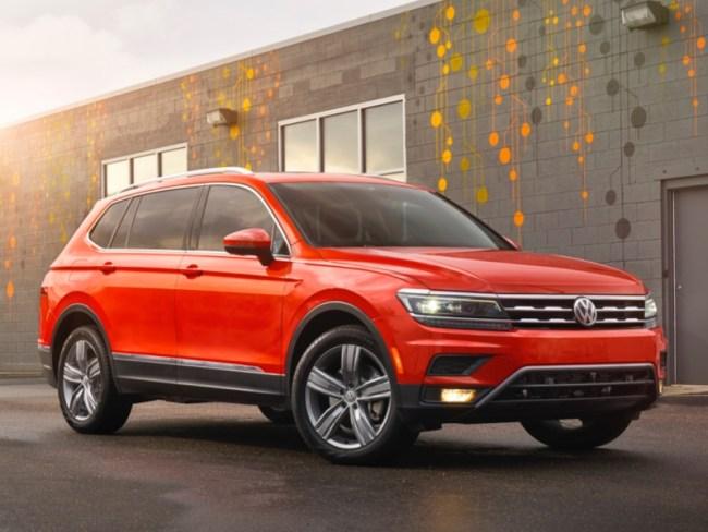 2018 Volkswagen Tiguan Is All Grown Up