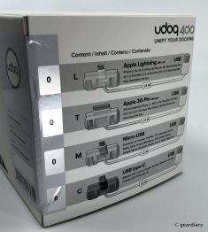 GearDiary Udoq400: The Aluminum Docking Station That Is Worthy of Your Desk