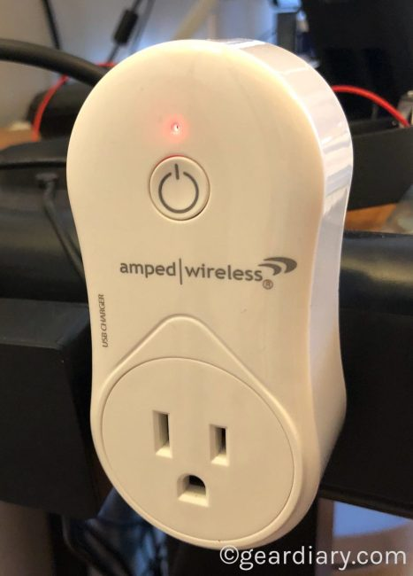 GearDiary Amped Wireless Smartplug Brings Alexa Voice Control to Places You Never Imagined