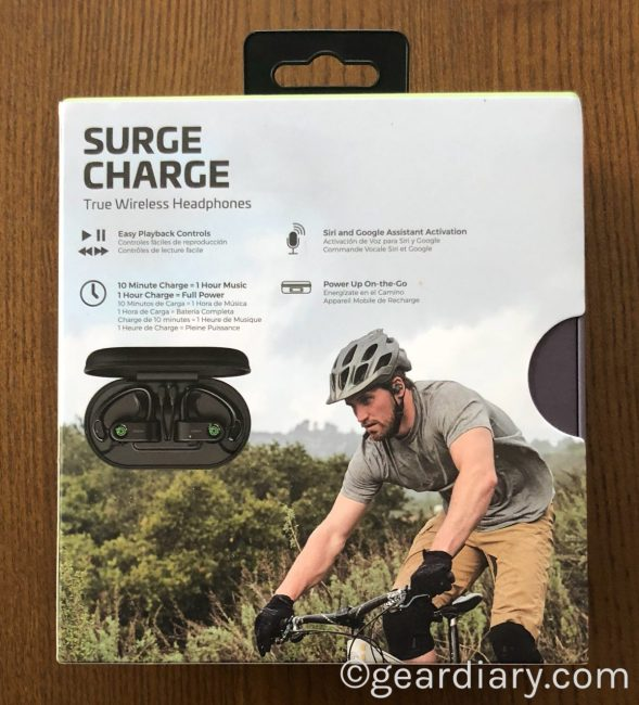 Rowkin Surge Charge True Wireless Earphones for Workouts