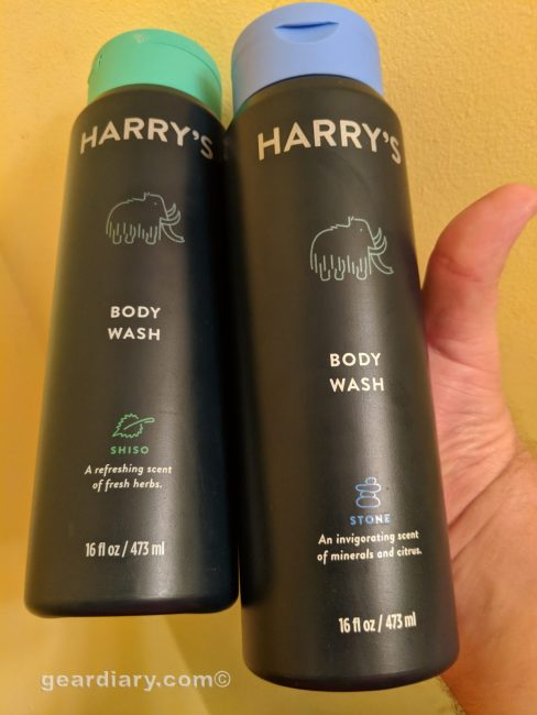 GearDiary Harry's New Body Washes Are Fab