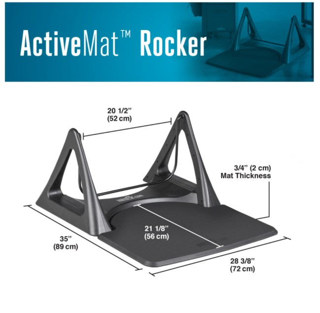 Vari ActiveMat Rocker Is an Interesting Addition to Your Standing Desk