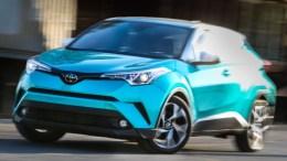 2018 Toyota C-HR Is Distinctively Different