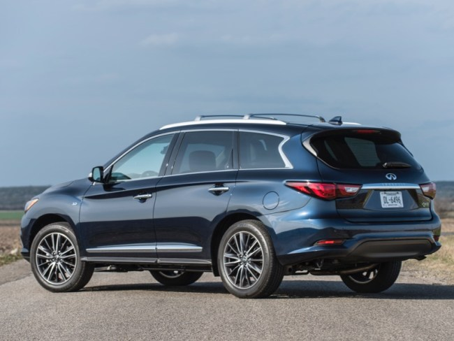 2018 Infiniti QX60 Delivers New Rear Seat Alert Technology