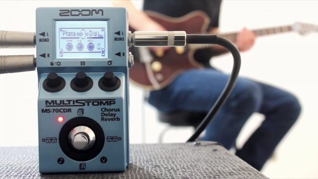The Zoom MS-70CDR: A Wealth of Effects in a Tiny Package