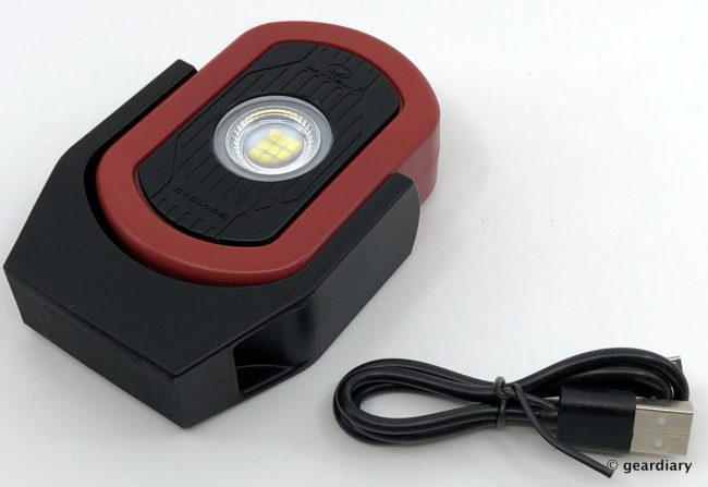 MAXXEON CYCLOPS WorkStar 800 Rechargeable LED Inspection Light Review