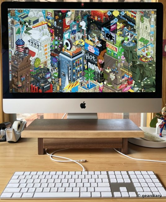Understands EVO 1: Elevate and Organize Your iMac with Gorgeous, Functional Wood