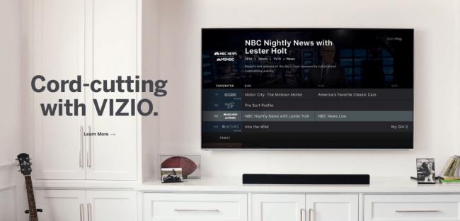VIZIO WatchFree Takes Cord-Cutting to the Next Level