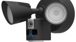 Momentum Aria LED Floodlight with WiFi Camera Provides Quality, Affordable Security