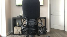 GearDiary Audio Technica's AT2020 Cardioid Microphone Is a Great Way to Begin Recording Sessions