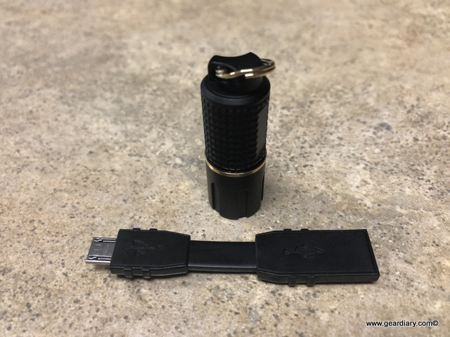 ASP Dot Rechargeable Flashlight Review: 130 Lumens on Your Keychain