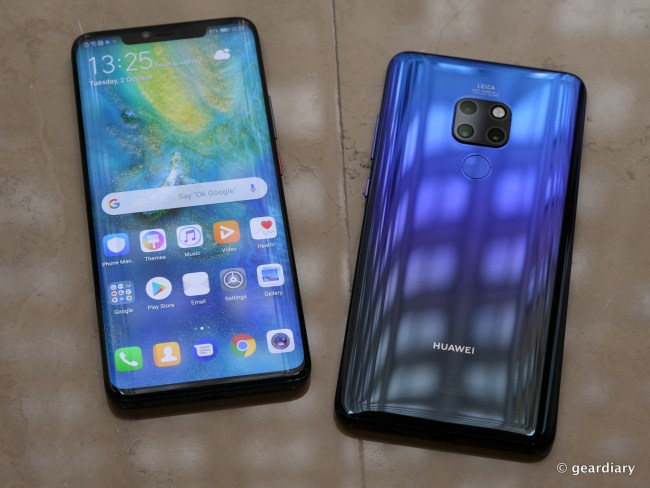 The New Huawei Mate 20 Pro Is Something to Talk About