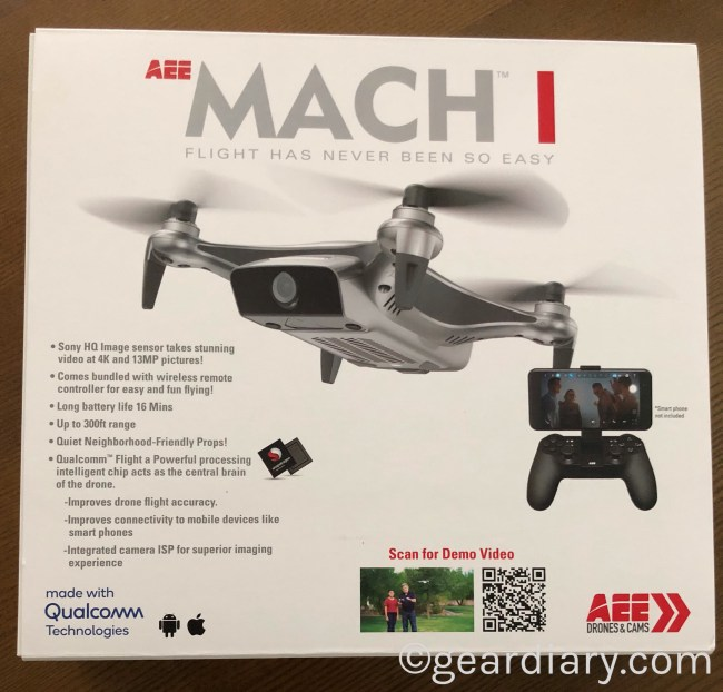 The AEE MACH 1 Drone Is Flying Fun for Everyone