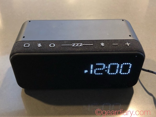 iHome iAV14 Is a Small but Powerful Bedside Clock with Alexa Built-in