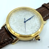 Stauer Morgan Silver Dollar Mens Watch: Functional History on Your Wrist