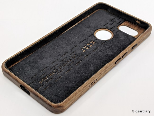 KerfCase Surrounds Your Pixel 3 XL in Gorgeous Wood
