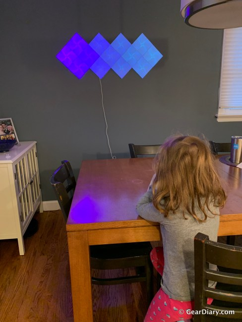 Nanoleaf Canvas Is Gorgeous Kinetic Art That Adds Brilliance to Any Space
